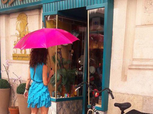 Tienda paraguas